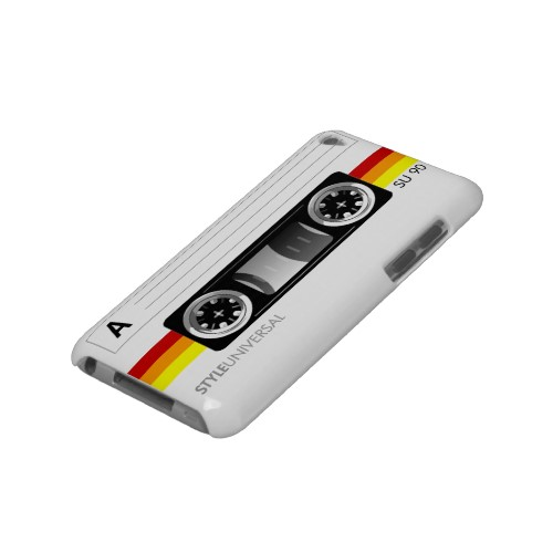 Cassette tape label Case-mate Ipod Touch Case