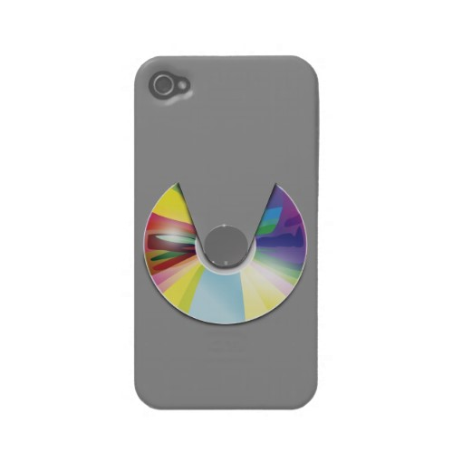 Compact disc player iPhone 4s case